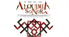 Preview of alquimiasonora.org